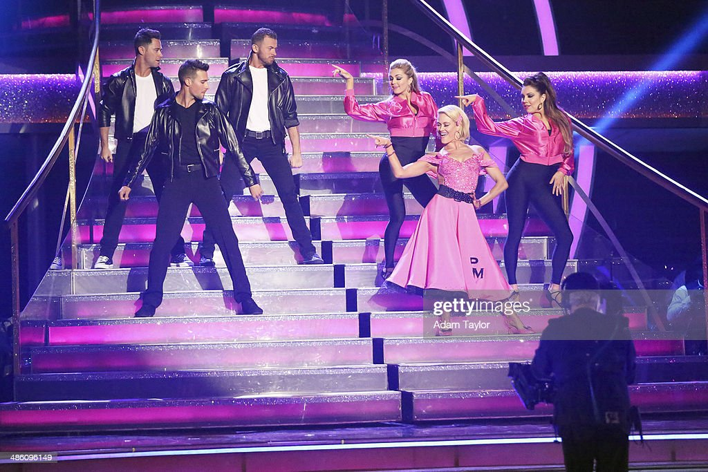 STARS - 'Episode 1806' - It's an all out celebration on 'Dancing with the Stars' as the celebrities got the party started MONDAY, APRIL 21 (8:00-10:01 p.m., ET) on the ABC Television Network. The show kicked off with a spectacular opening performance followed by each couple dancing to some of the greatest party anthems of all time. Additionally, LMFAO frontman Redfoo was the guest judge alongside Len Goodman, Bruno Tonioli and Carrie Ann Inaba. SASHA