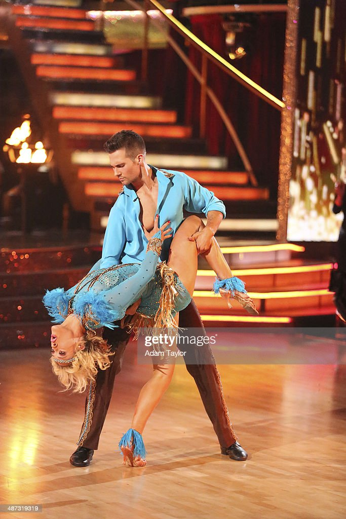 STARS - 'Episode 1807' - Grammy(r) winner Ricky Martin joined 'Dancing with the Stars' for 'Latin Night' MONDAY, APRIL 28 (8:00-10:01 p.m., ET) on the ABC Television Network. He joined Len Goodman, Bruno Tonioli and Carrie Ann Inaba as a guest judge for the evening. Each couple performed an individual dance to a song with a Latin theme. Additionally, the competition included two Latin inspired team dances. MASLOW