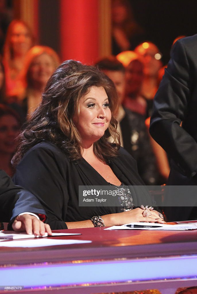 STARS - 'Episode 1808' - Reality television personality and professional choreographer Abby Lee Miller of 'Dance Moms' joined as a guest judge alongside Len Goodman, Bruno Tonioli and Carrie Ann Inaba on 'Dancing with the Stars' MONDAY, MAY 5 (8:00-10:01 p.m., ET) on the ABC Television Network. The remaining couples performed an individual dance and the first ever 'Celebrity Dance Duel.'