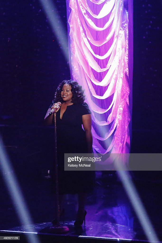 STARS - 'Episode 1810A' - Last season's Mirrorball Trophy winner, Amber Riley, returned as a part of Walgreens' 'Dance Happy Be Healthy' performance of 'Do Your Thing' plus her first single 'Colorblind,' on the Season Finale, TUESDAY, MAY 20 (9:00-11:00 p.m., ET) on the ABC Television Network. RILEY