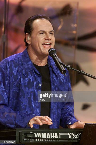 Harry 'KC' Wayne Casey of musical guest KC and the Sunshine Band on April 24 2000