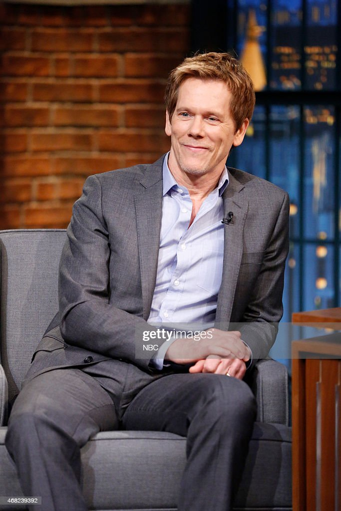 "NBC's ""Late Night with Seth Meyers"" With Guests Kevin Bacon, Chris D'Elia, Eric Ripert"
