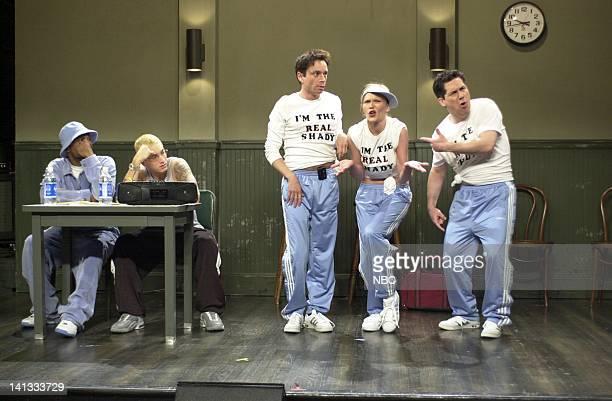 LIVE Episode 19 Air Date Pictured Rapper Proof Eminem Chris Kattan as Kyle DeMarco Chris Parnell as Sean DeMarco Kirsten Dunst as Tamara DeMarco...