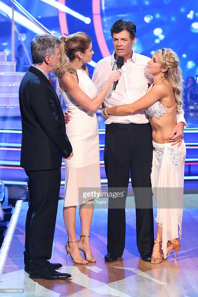 STARS 'Episode 1908' At the end of the night the next couple eliminated was Michael Waltrip and Emma Slater on 'Dancing with the Stars' MONDAY...