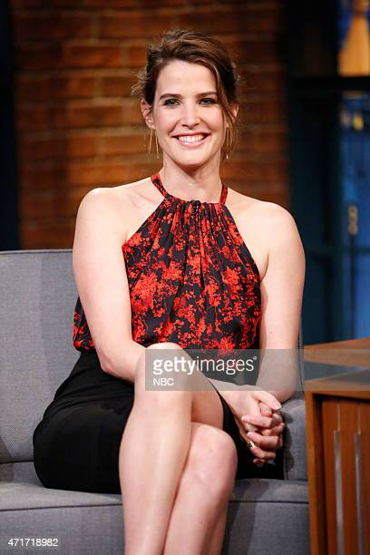 Actress Cobie Smulders during an interview on April 30 2015