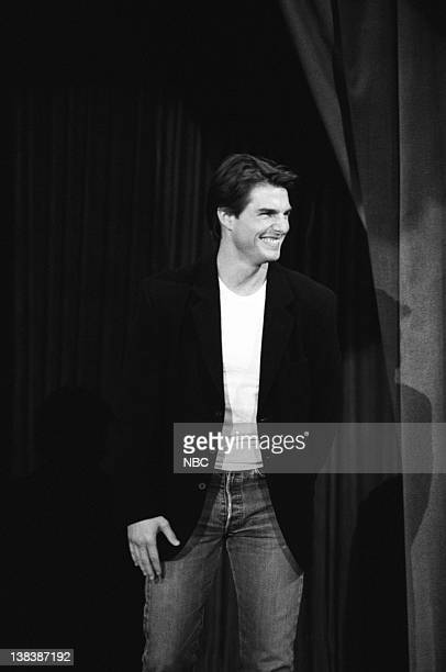 LENO Episode 2 Air Date Pictured Actor Tom Cruise arrives on May 26 1992