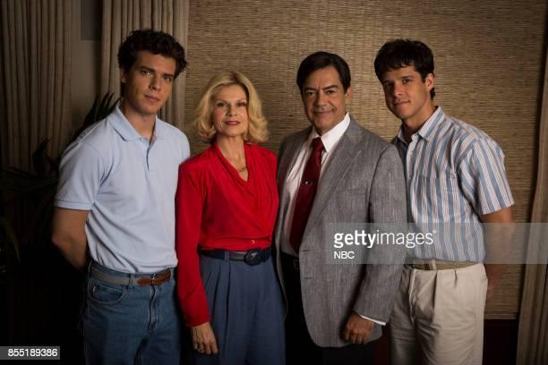 MURDERS 'Episode 2' Episode 102 Pictured Gus Halper as Erik Menendez Lolita Davidovich as Kitty Menendez Carlos Gomez as Jose Menendez Gus Halper as...