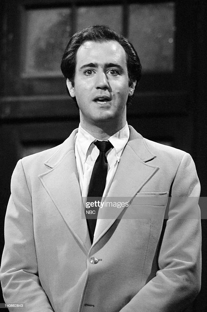 Comedian <a gi-track='captionPersonalityLinkClicked' href=/galleries/search?phrase=Andy+Kaufman&family=editorial&specificpeople=587929 ng-click='$event.stopPropagation()'>Andy Kaufman</a> performs on October 20, 1979 --