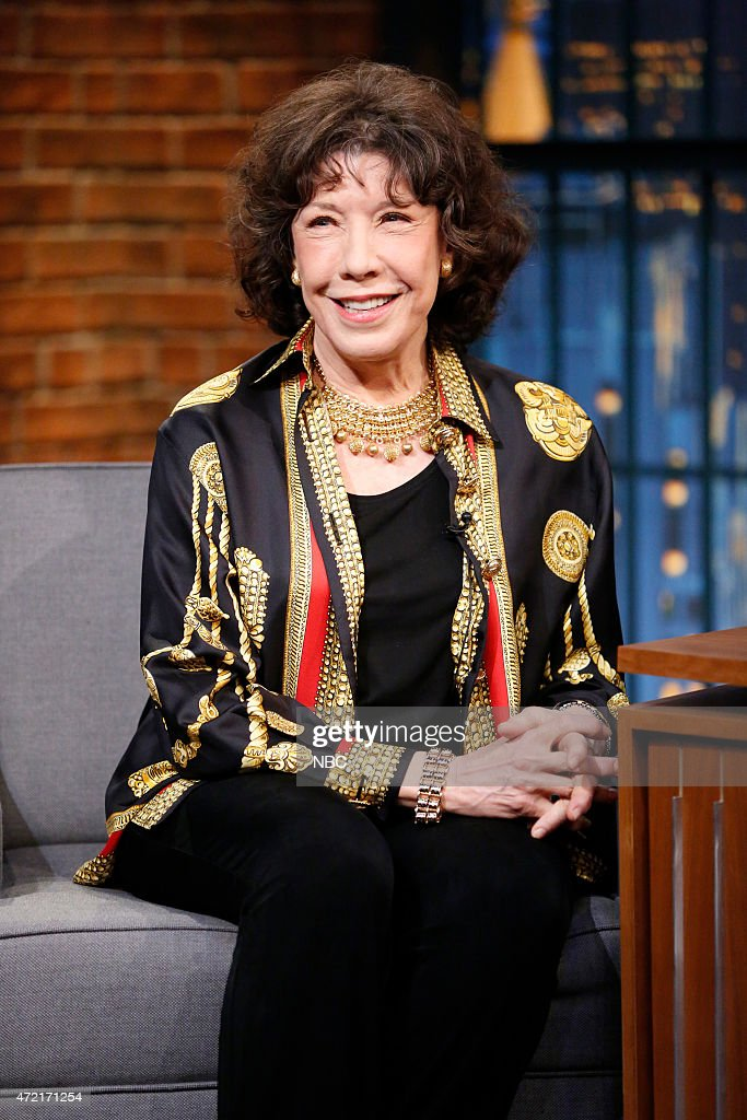 Actress Lily Tomlin during an interview on May 4 2015