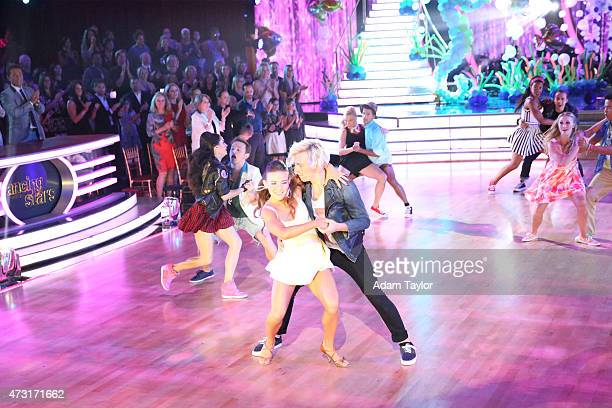 RESULTS 'Episode 2009A' 'Dancing with the Stars The Results' continued on TUESDAY MAY 12 Viewers were treated to a lively dance performance from the...