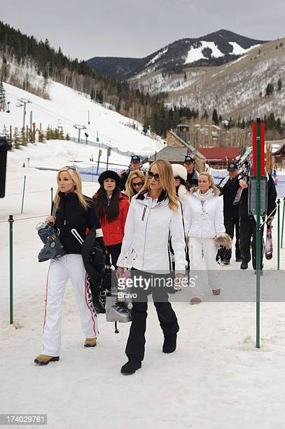 HILLS Episode 202 'Blame it on the Altitude' Pictured Camille Grammer Taylor Armstrong