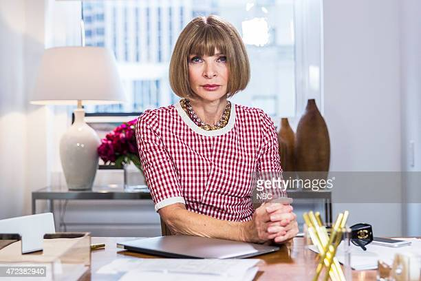 Anna Wintour during the 'Anna Wintour Comedy Icon' skit May 6 2015