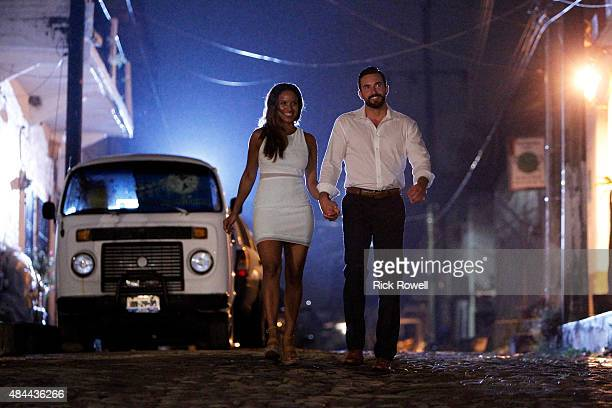 PARADISE 'Episode 203B' On their date Dan and Amber walk the streets of Puerto Vallarta hand in hand stopping to kiss along the way and it's clear...
