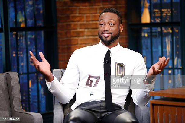 Dwyane Wade from the Miami Heat during an interview on May 20 2015