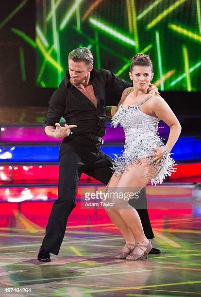 STARS 'Episode 2110' Four remaining couples advanced to the SEMIFINALS on 'Dancing with the Stars' on MONDAY NOVEMBER 16 For the first time in...