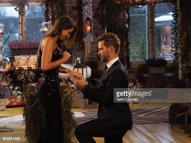 THE BACHELOR 'Episode 2110' The compelling live threehour television event will begin with America watching along with the studio audience as Nick...