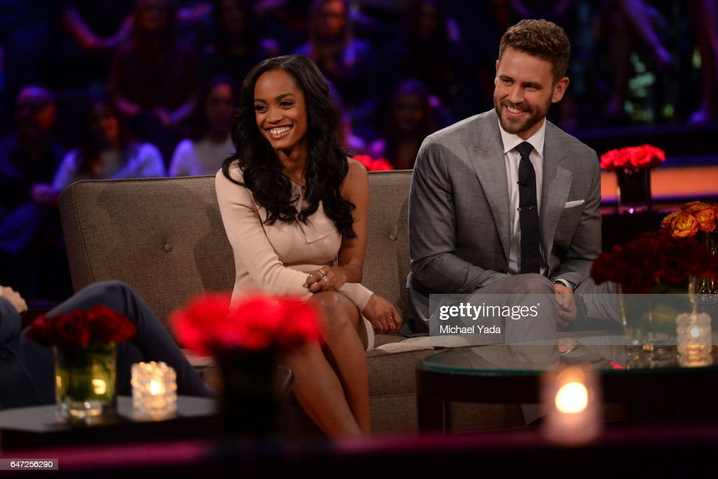 THE BACHELOR - 'Episode 2111 - The Women Tell All' - Tempers flare and there are plenty of fireworks, as 19 of the most memorable women this season are back to confront Nick and tell their side of the story. There were highs and lows during Nick's unforgettable season - and then there was Corinne, the most controversial bachelorette of the group. The very self-confident Corinne, who has been the woman viewers and the other bachelorettes have loved to hate, returns to have her chance to defend herself. Rachel, the recently announced new Bachelorette, shares some insight into how she plans to handle her search for love. Danielle L. and Kristina attempt to get some closure to their sudden and heart-wrenching break-ups. Then, take a sneak peak at the dramatic season finale and Nick's final two women, on 'The Bachelor: The Women Tell All,' MONDAY, MARCH 6 (9:01-11:00 p.m. EST), on The ABC Television Network. VIALL