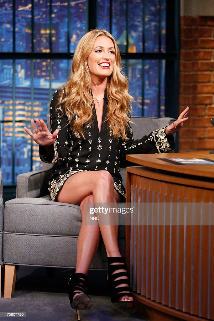 "Cat Deeley host of ""So You Think You Can Dance"" during an interview on June 4 2015"