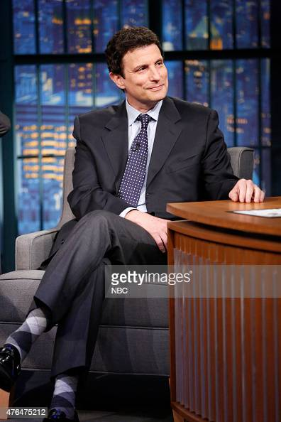 David Remnick New Yorker editor during an interview on June 9 2015