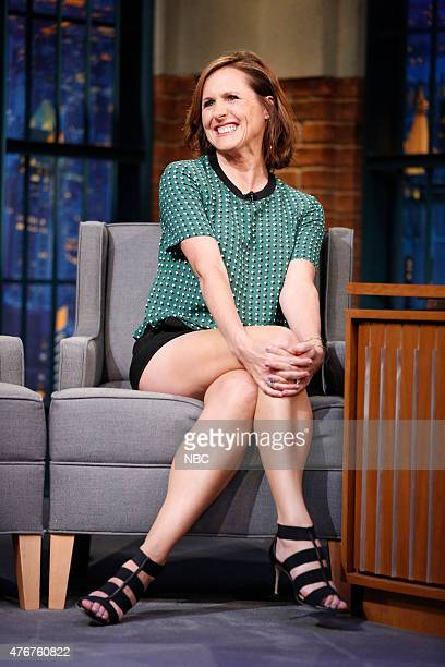 Actress Molly Shannon during an interview on June 11 2015