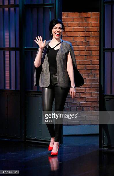 Actress Laura Prepon arrives on June 15 2015
