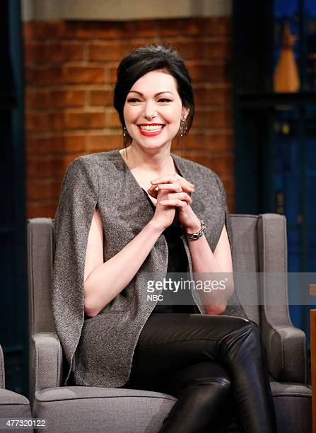 Actress Laura Prepon during an interview on June 15 2015