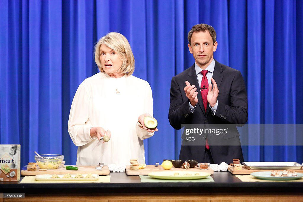 seth meyers dating martha stewart Bethenny was on the apprentice: martha stewart, but the two aren't watch late night with seth meyers weeknights 12:35/11:35c on nbc.