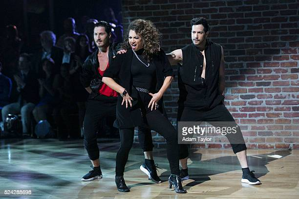 STARS 'Episode 2206' The remaining nine celebrities return to their original professional dance partners to tackle 'Famous Dances Night' on 'Dancing...