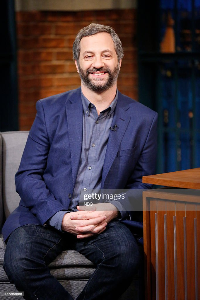 "NBC's ""Late Night with Seth Meyers"" With Guests Amanda Seyfried, Judd Apatow, Katie Lee"