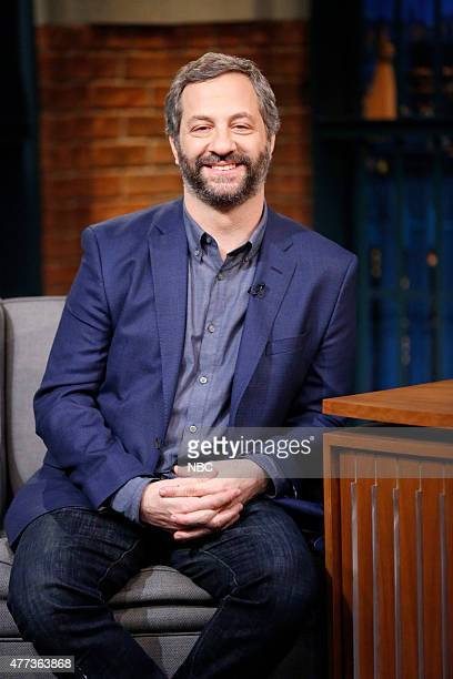 Comedian Judd Apatow during an interview on June 16 2015