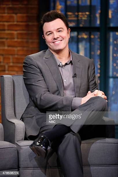 Actor Seth McFarlane during an interview on June 25 2015