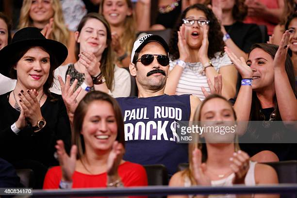 Actor Paul Rudd during a skit on July 15 2015