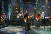 Members of the rock band Goo Goo Dolls perform on September 11 2002