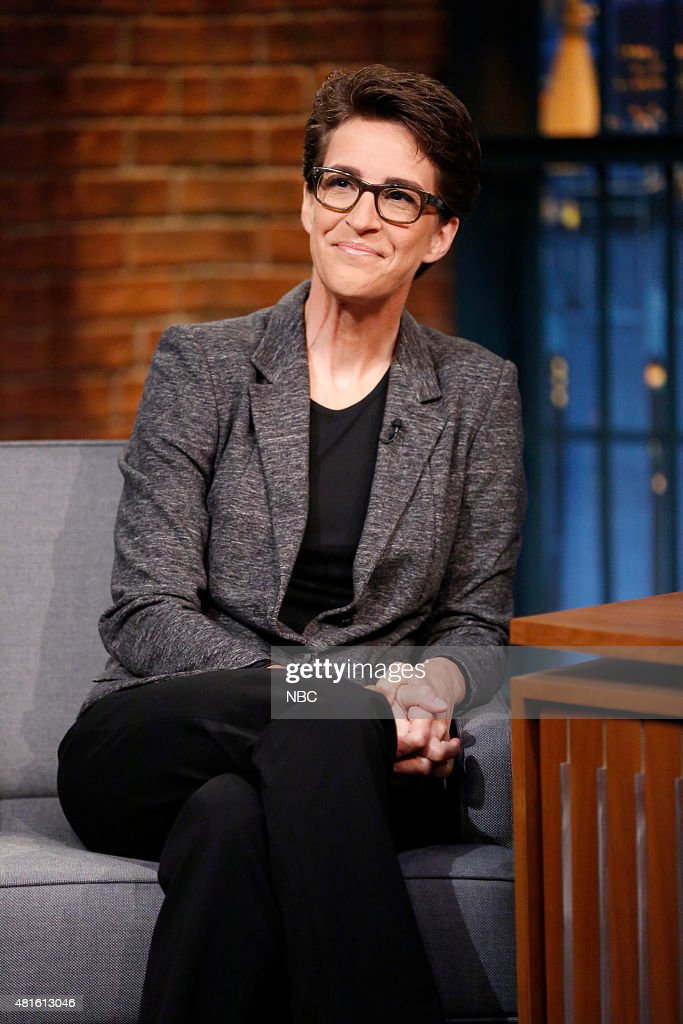 "NBC""s ""Late Night with Seth Meyers"" With Guests Rachel Maddow, Cara Delevingne, Neon Trees"