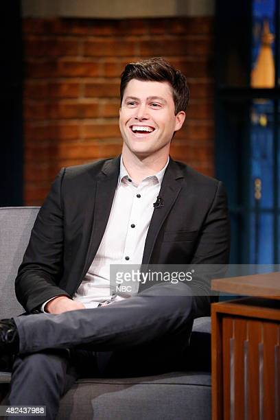 Actor Colin Jost during an interview on July 30 2015