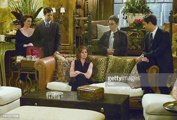 WILL GRACE '24' Episode 24 Air Date Pictured Megan Mullally as Karen Walker Sean Hayes as Jack McFarland Debra Messing as Grace Adler Shelley...