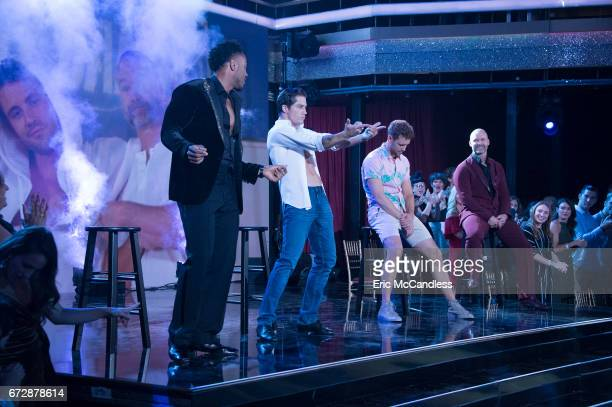 STARS 'Episode 2406' The eight remaining celebrities will dance to songs from some of the most popular boy bands and girl groups throughout history...