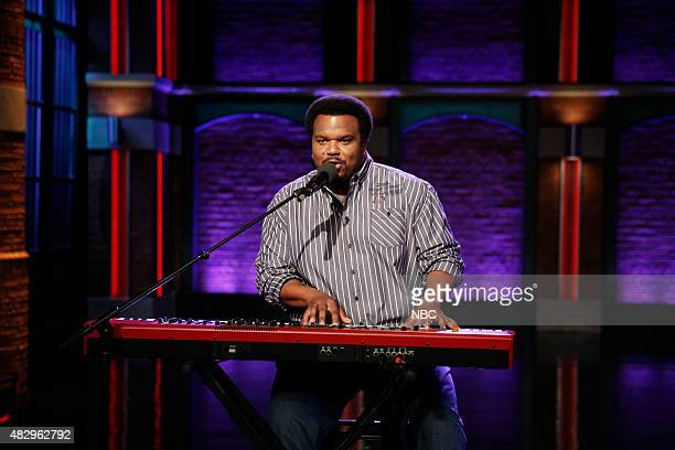 Actor Craig Robinson performs on August 4 2015