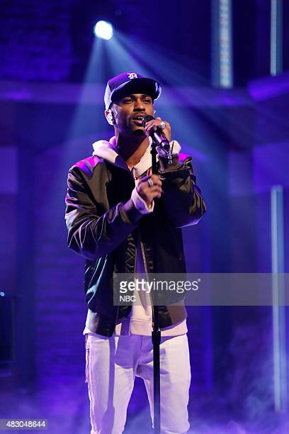 Musical guest Big Sean performs on August 5 2015