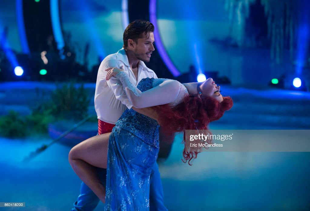 STARS - 'Episode 2505' - The 10 remaining celebrities will transform into some of the most magical Disney characters from their favorite Disney films and celebrate the magnificence of 'Disney Night,' on 'Dancing with the Stars,' live, MONDAY, OCTOBER 16 (8:00-10:01 p.m. EDT), on The ABC Television Network. ABC/Eric McCandless / ABC Via Getty Images) GLEB