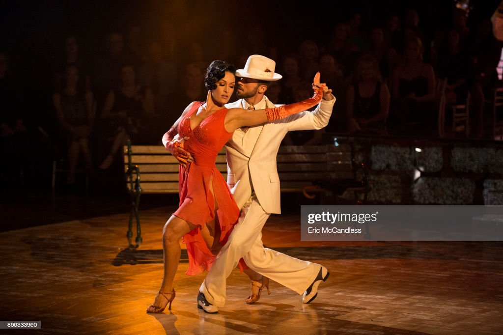 STARS - 'Episode 2506' - The nine remaining couples set their sights on the glitz and glamor of Tinseltown as they dance to celebrate 'A Night at the Movies,' on 'Dancing with the Stars,' live, MONDAY, OCTOBER 23 (8:00-10:01 p.m. EDT), on The ABC Television Network. ABC/Eric McCandless / ABC Via Getty Images) NIKKI