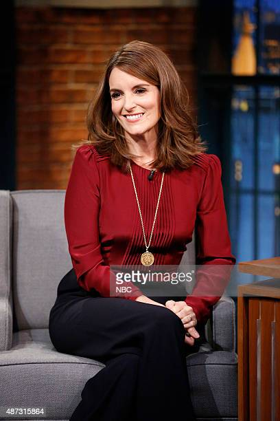 Actress Tina Fey during an interview on September 8 2015