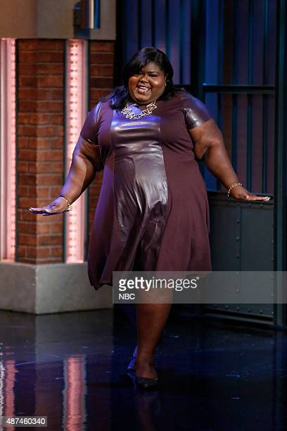 Actress Gabourey Sidibe arrives on September 9 2015