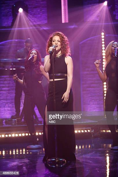 Musical guest Jess Glynne performs on September 16 2015