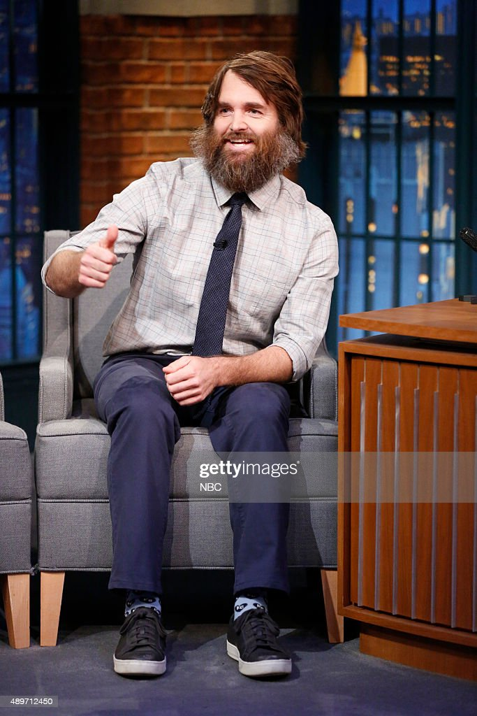 "NBC's ""Late Night with Seth Meyers"" With Guests Will Forte, Natasha Lyonne"