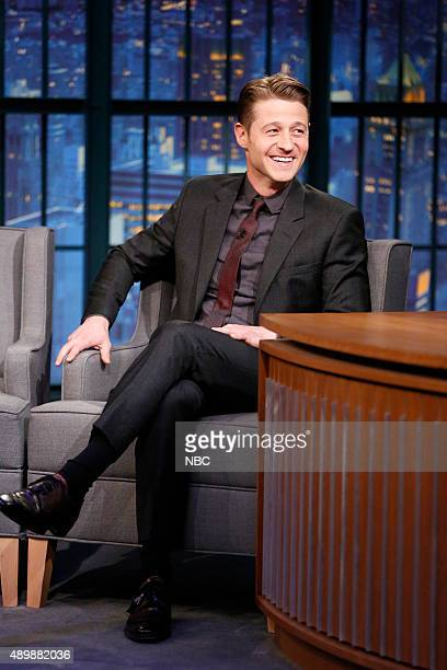 Actor Ben McKenzie during an interview on September 24 2015