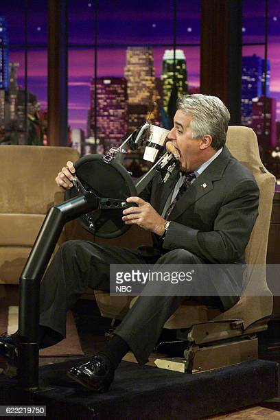 Talk show host Jay Leno during Duller Image sketch on March 12 2004