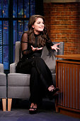 Actress Eve Hewson during an interview on October 27 2015