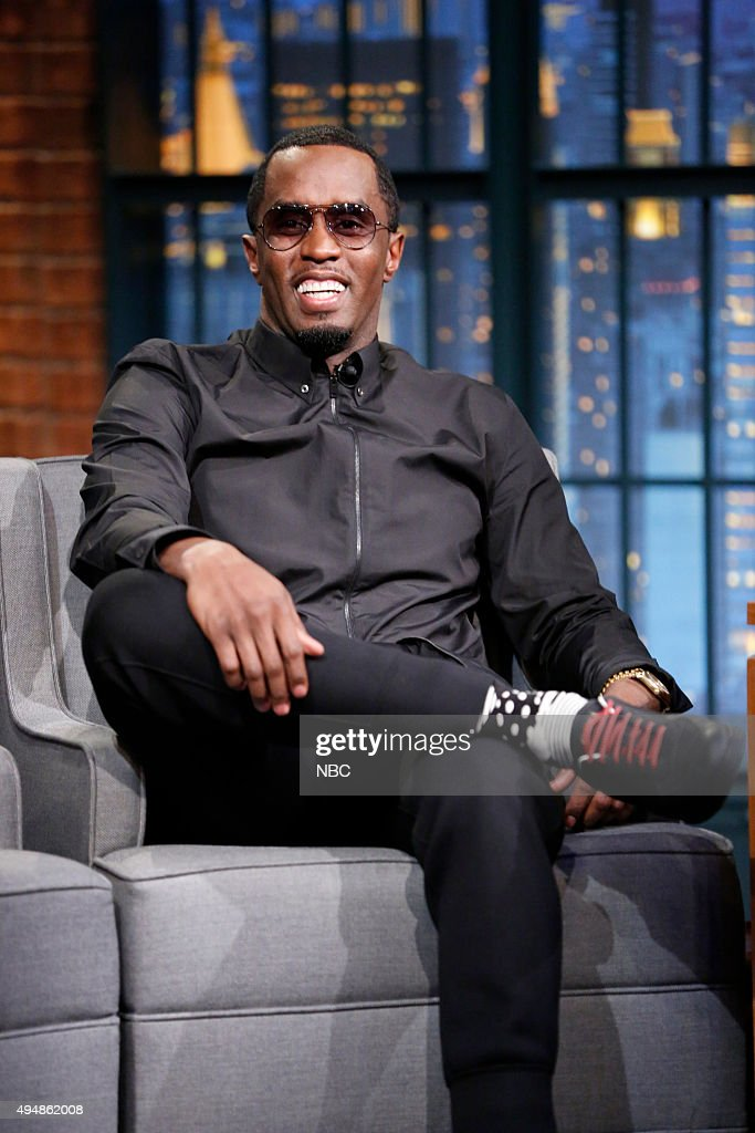 "NBC's ""Late Night with Seth Meyers"" With Guests Sean Diddy Combs, Jaimie Alexander, Gary Clark, Jr."