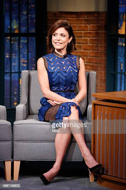 Bethenny Frankel during an interview on November 11 2015